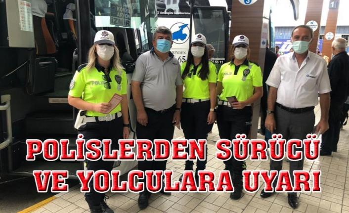 Van'da polis ekiplerinden sürücülere uyarı...