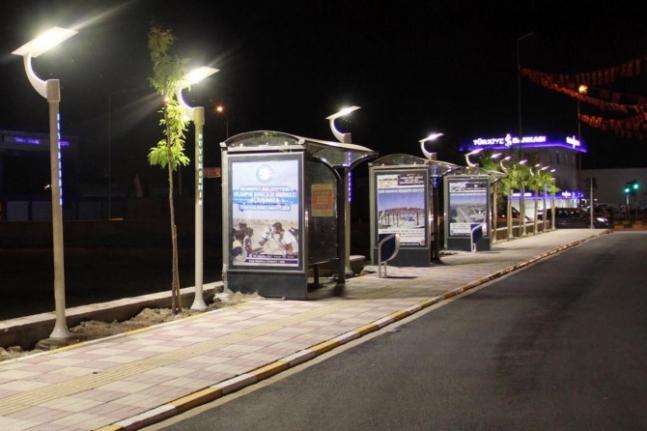 Van Büyükşehir, otobüs durağı yapacak