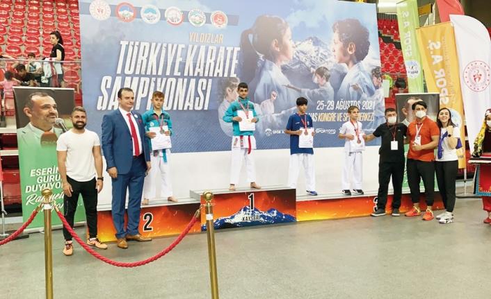 Van Karate Şampiyonası'nda Türkiye dördüncü oldu