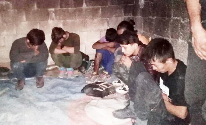 Van'da hava destekli düzensiz göçmen operasyonu