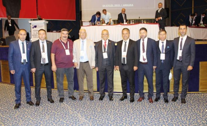 Vanlı hakem ve gözlemciler, Ankara'daki kongreye katıldı