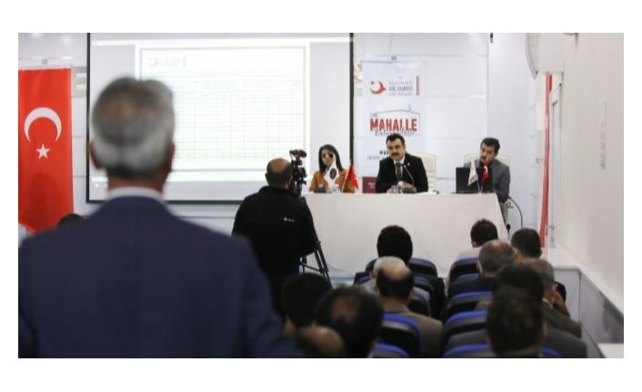İpekyolu'nda İl Göç İdaresi Müdürlüğü bilgilendirme toplantısı