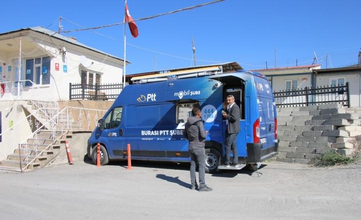 PTT mobil aracı hizmette…