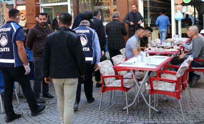 Van'da kahvaltı salonları denetlendi