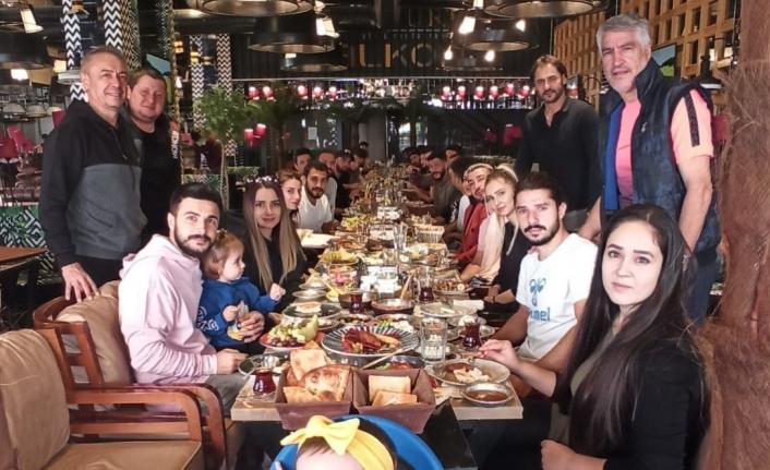 Vanspor'lu futbolculara moral kahvaltısı…