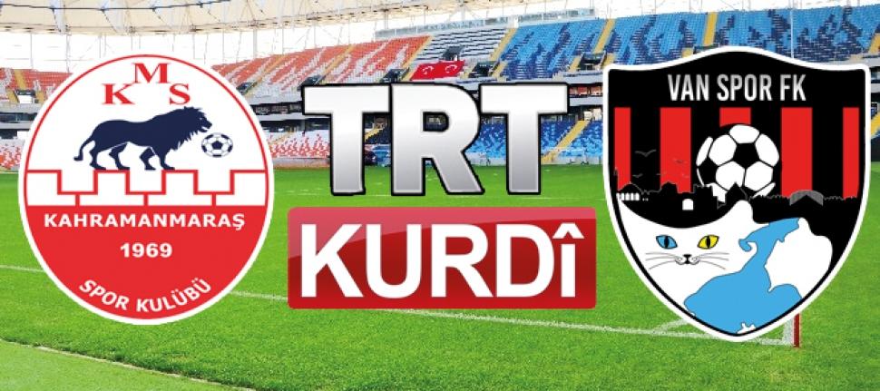 Vanspor'un maçı canlı yayınlanacak