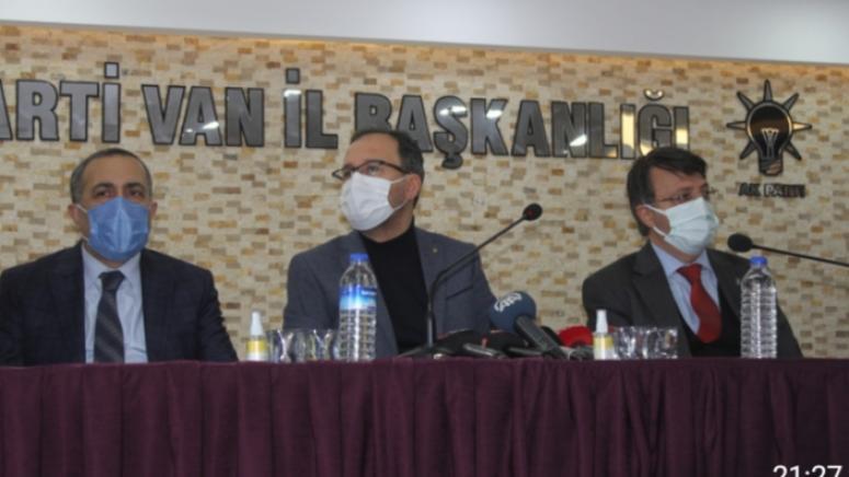 Bakan Kasapoğlu'ndan, Ak Parti İl Başkanlığı'na ziyaret...