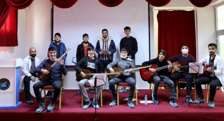 İpekyolu'nda gençlik korosunun provaları başladı
