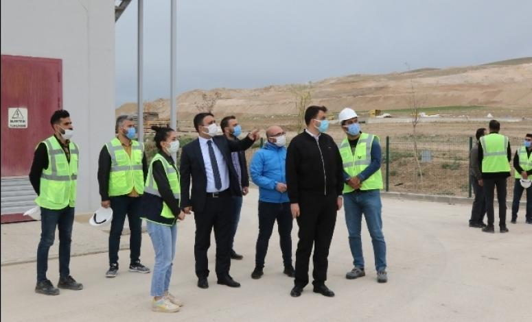 Genel Sekreter Çelikel, Büyükşehir'in yatırımlarını inceledi