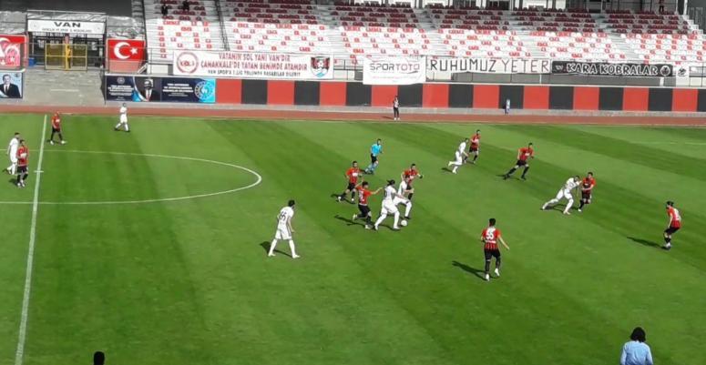 Vanspor, Sakaryaspor'a evinde kaybetti:0-2