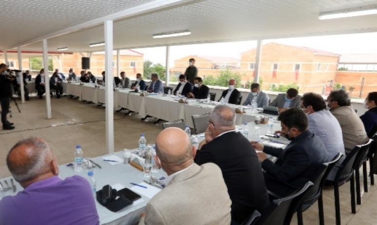 Kent Danışma Kurulu toplantısında vizyon projeler konuşuldu