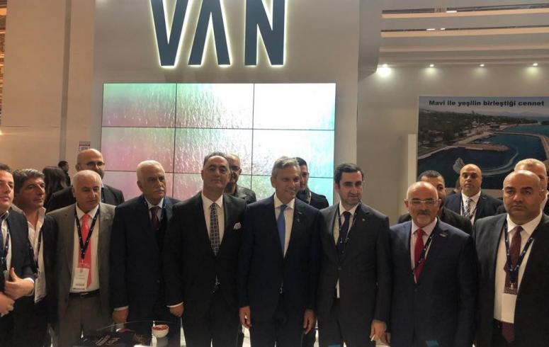 Van, İzmir'deki fuarda tanıtılıyor