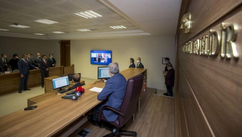 Van'da E-duruşma mahkeme sistemi başladı
