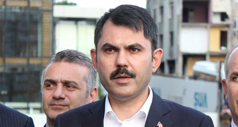 Bakan Kurum: Kaçak yapılar tespit ettik, hepsi yıkılacak
