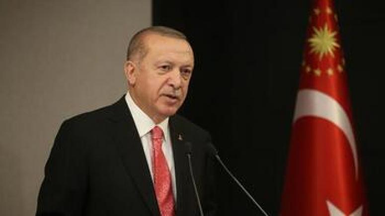 Erdoğan'dan, Lübnan Cumhurbaşkanı'na geçmiş olsun telefonu...