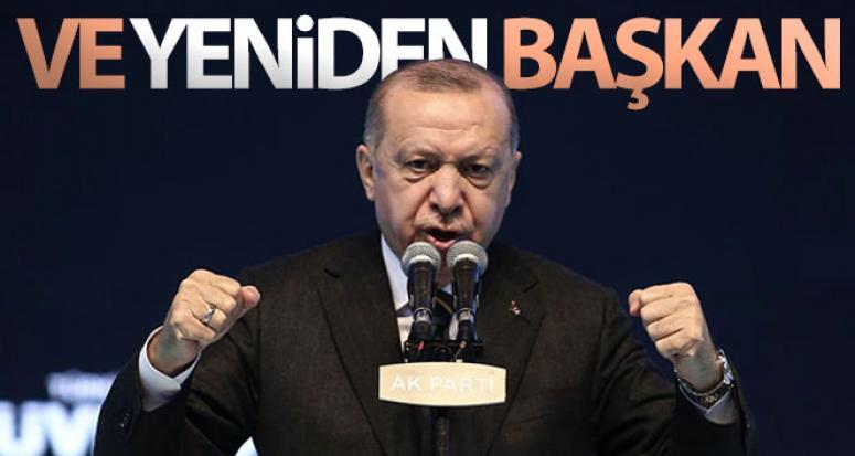 Erdoğan, yeniden başkan…