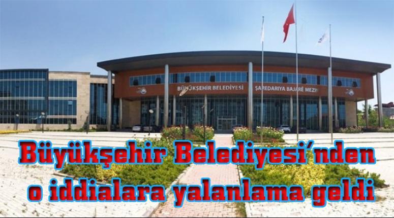 Van Büyükşehir Belediyesi'nden o iddialara yalanlama…