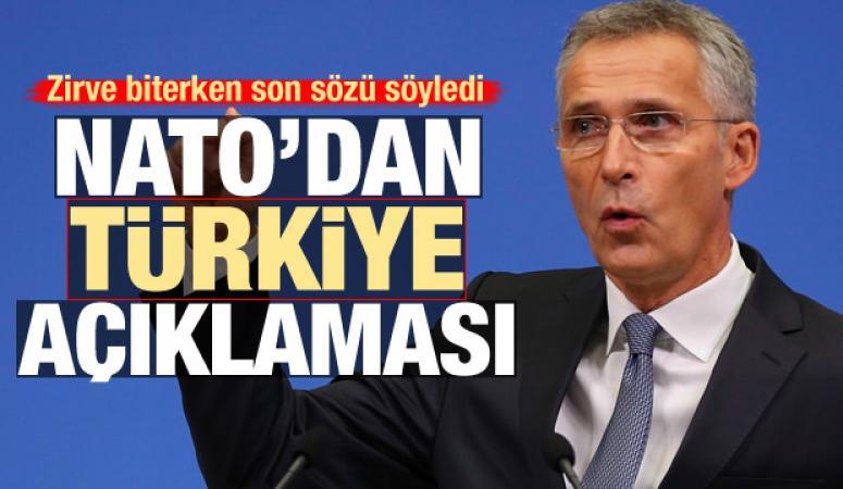 Stoltenberg'den, Türkiye açıklaması...
