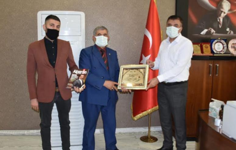 BBP heyetinden, Müdür Sünnetçioğlu'na ziyaret…