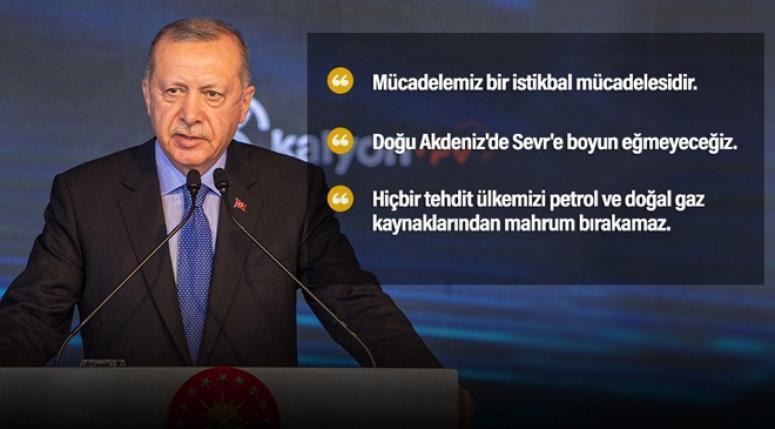 Erdoğan: İnşallah Türkiye'de yeni bir dönem açılacak