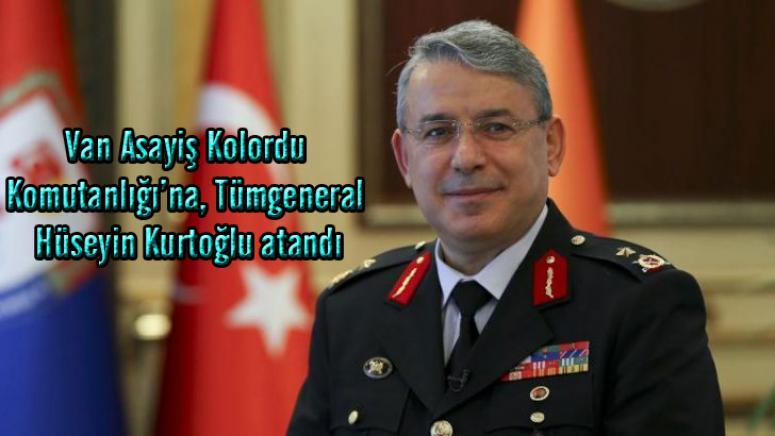 Van Asayiş Kolordu Komutanlığı'na Tümgeneral Kurtoğlu atandı