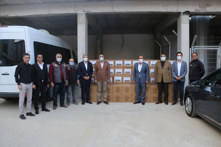 Van TSO'dan İzmir'deki depremzedelere kardeşlik eli...