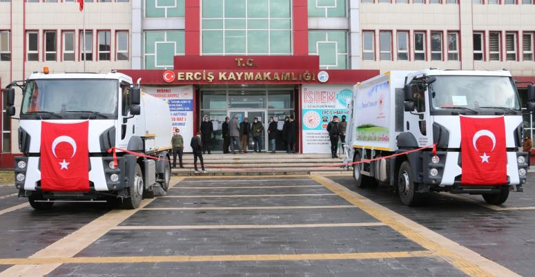 Erciş Belediyesi araç filosunu genişletti