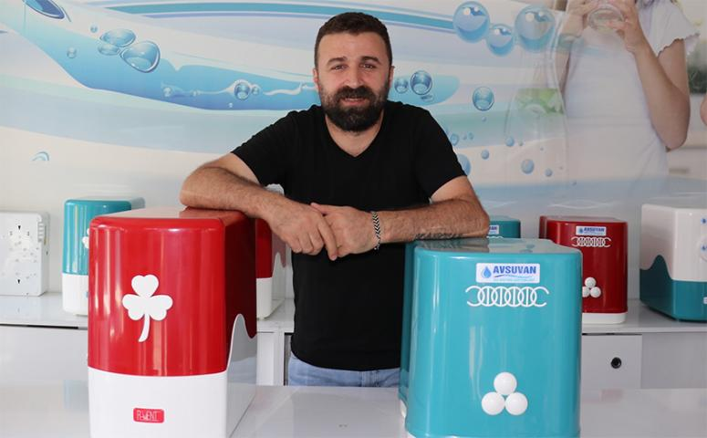 Van'ın kireçli suyu yüzünden arıtma cihazlarına talep arttı