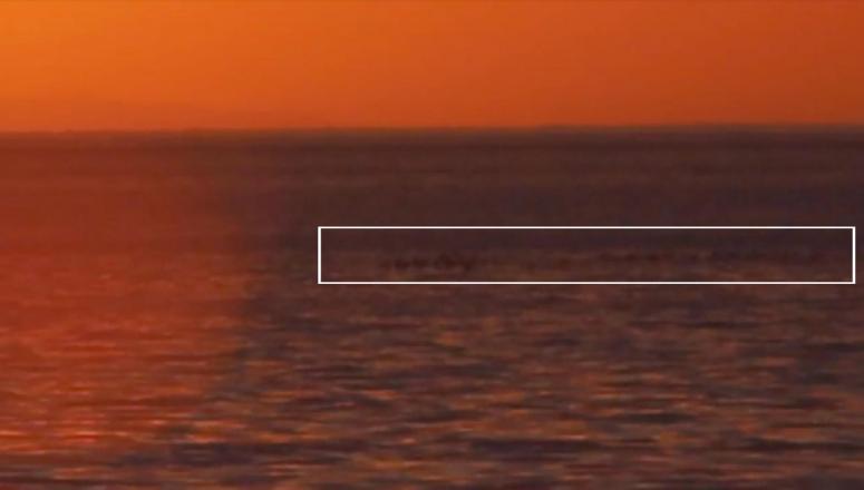 Van Gölü'nde görülen cisim canavarı anımsattı