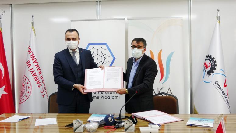 Van Tekstil ve Hazır Giyim OSB Sosyal Donatılarının Oluşturulması Projesi imza töreni