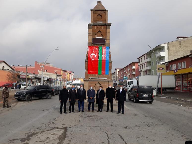 Çaldıran'da bir caddeye 'Azerbaycan', bir sokağa 'Karabağ' ismi verildi