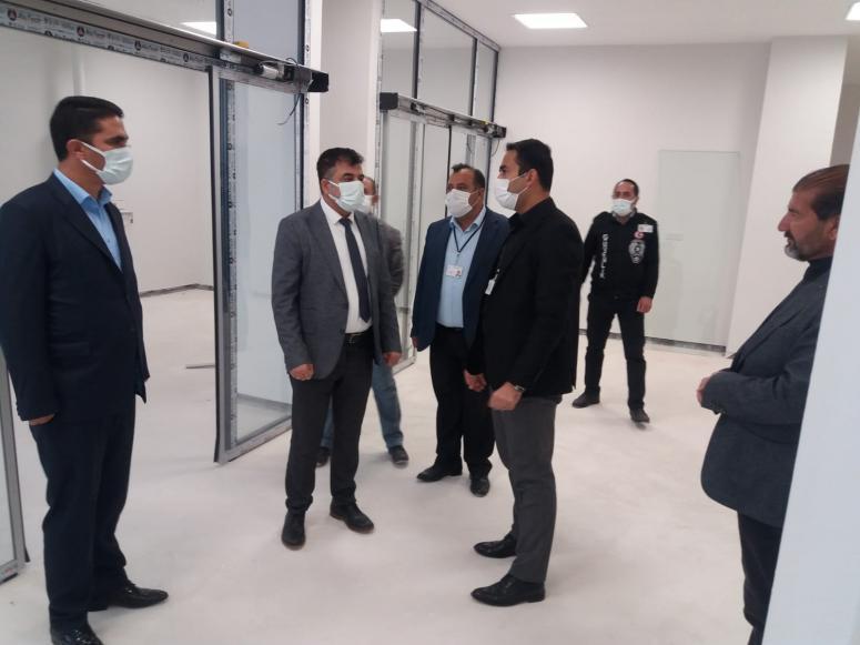 Müdür Sünnetçioğlu'ndan Erciş ve Çaldıran'a ziyaret