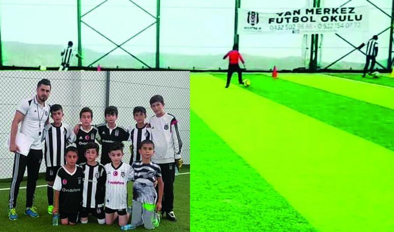 Van Beşiktaş Futbol Okulu'nda durmak yok
