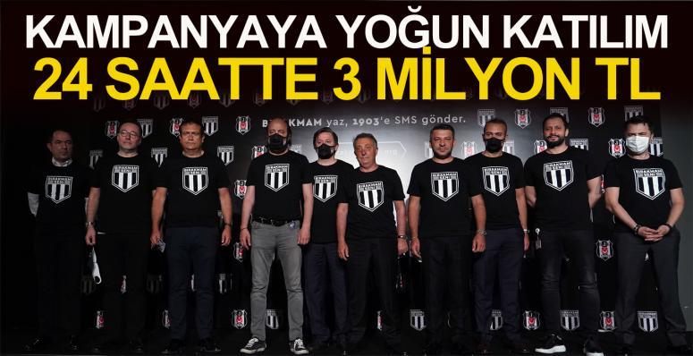 Kampanyaya yoğun katılım: 24 saatte 3 milyon TL