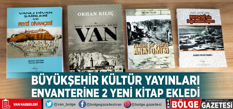 Büyükşehir kültür yayınları envanterine 2 yeni kitap ekledi