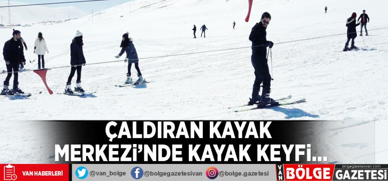 Çaldıran Kayak Merkezi'nde kayak keyfi…