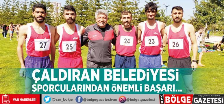 Çaldıran Belediyesi sporcularından önemli başarı...