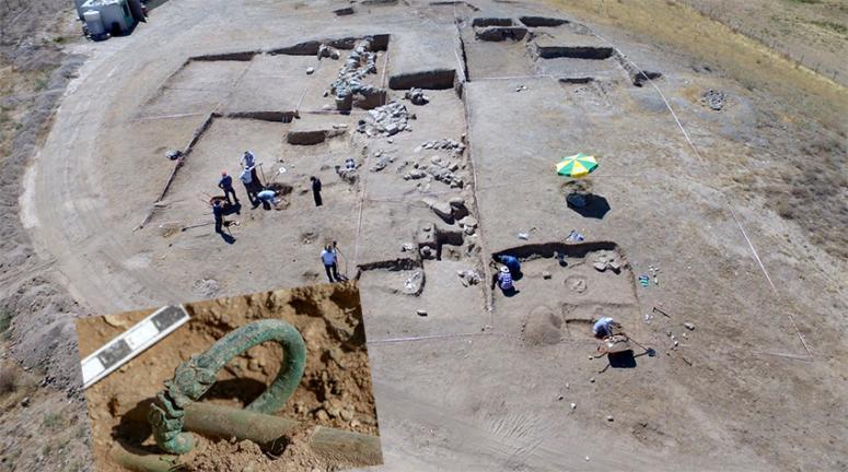 Çavuştepe'deki kazılarda önemli bulgulara ulaşıldı