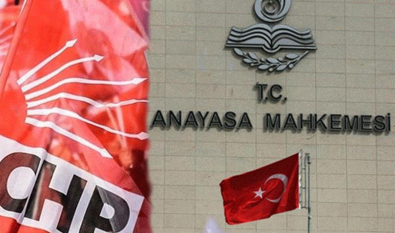 CHP'nin, KHK başvurusu reddedildi