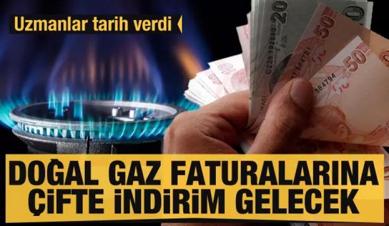 Doğal gaz faturalarına çifte indirim gelecek!