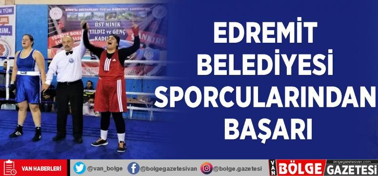 Edremit Belediyesi sporcularından başarı