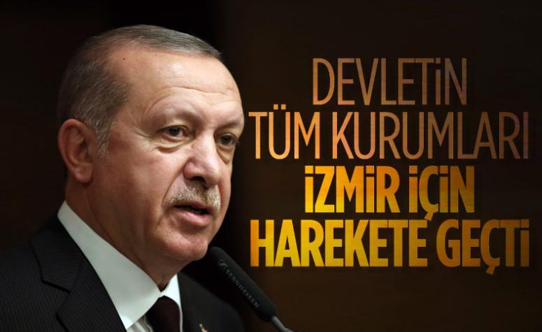 Cumhurbaşkanı Erdoğan: Bakanlarımız bölgede