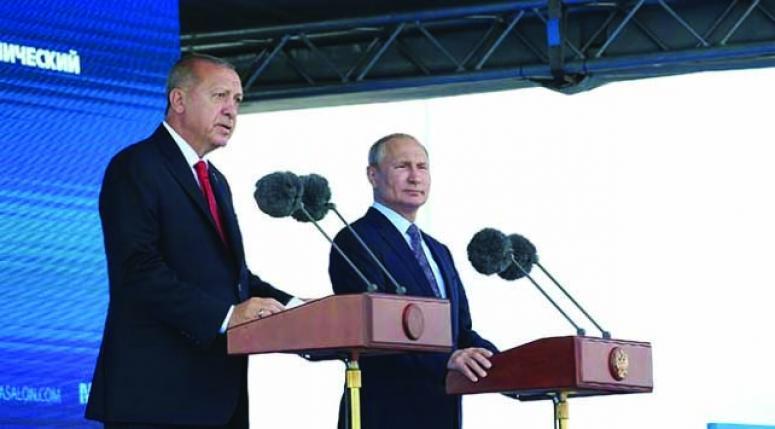 Erdoğan: Rusya ile ticaret hacminde hedefimiz 100 milyar dolar