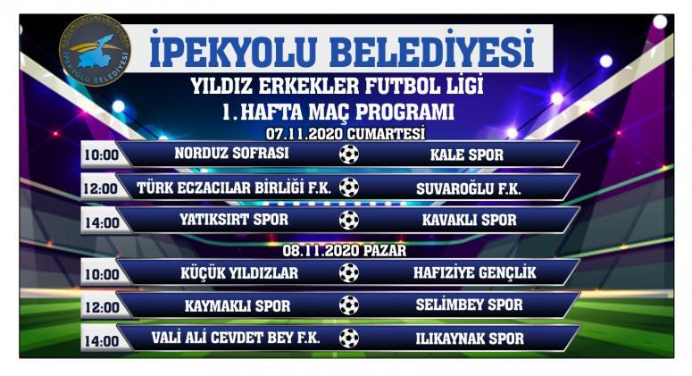 İpekyolu'nda  ödüllü 'Yıldız Erkekler Futbol Ligi' kura çekimi yapıldı