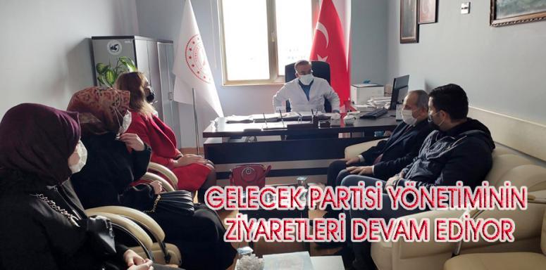 Gelecek Partisi heyetinden hastane ziyareti…