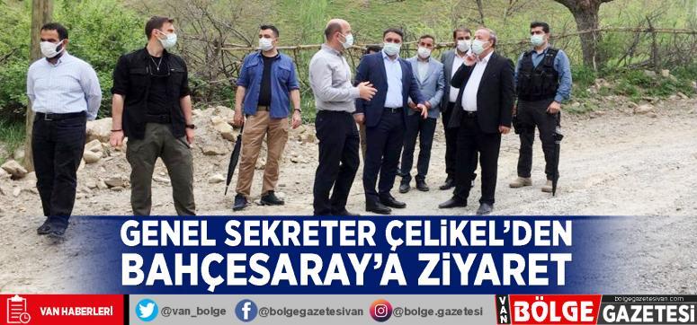 Genel Sekreter Çelikel'den Bahçesaray'a ziyaret