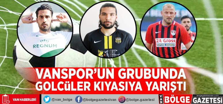 Vanspor'un grubunda golcüler kıyasıya yarıştı