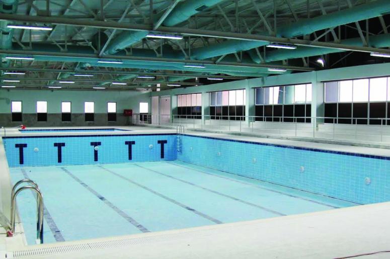 Başkale'deki yarı olimpik havuz ilkbaharda hizmete girecek