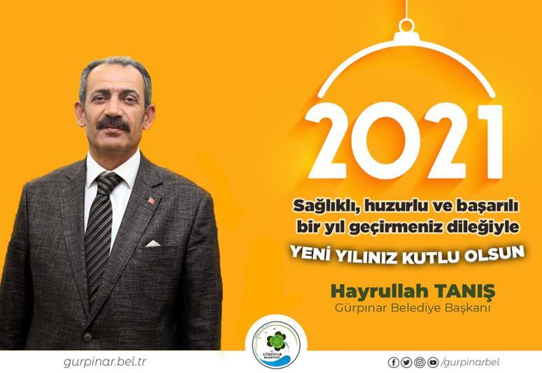 Başkan Tanış'tan, yeni yıl mesajı…