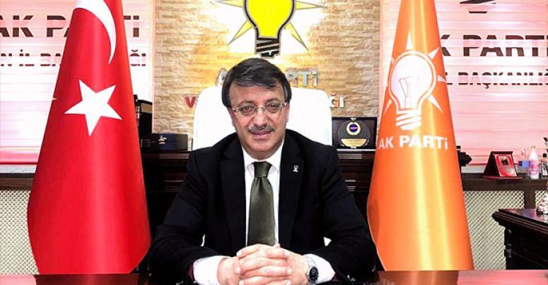 AK Parti Van İl Başkanı Türkmenoğlu'dan Engelliler Günü mesajı